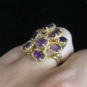 Vintage Jewelry - 14kt yellow gold vintage ring
